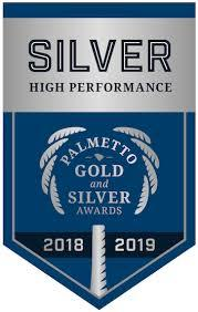 Dreher Receives Palmetto Silver Award